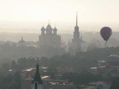 Над Рязанским Кремлём